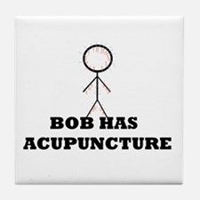 Bobs acupuncture Tile Coaster