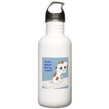 Are You Going To Give Me A Shot? Sports Water Bottle