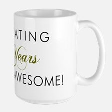 Celebrating 65 Years Large Mug