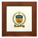 PICARD Family Crest Framed Tile