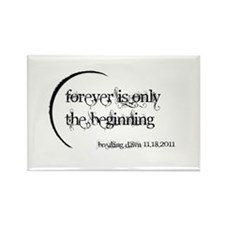 Breaking Dawn Forever Rectangle Magnet