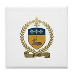 PICARD Family Crest Tile Coaster