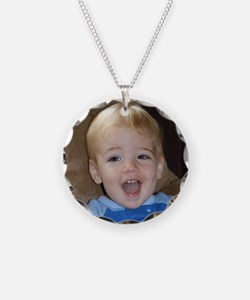 Nathan 18 Months Old Necklace Circle Charm