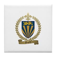 DUPERE Family Crest Tile Coaster