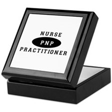 Cute Nurse practitioners Keepsake Box
