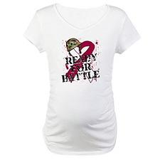 Battle Throat Cancer Shirt