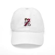 Battle Throat Cancer Baseball Cap