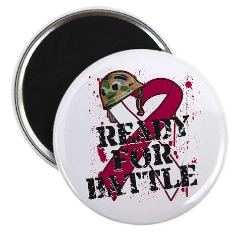 Battle Throat Cancer Magnet