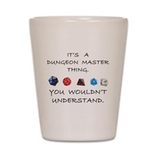 Dungeon Master Thing Shot Glass