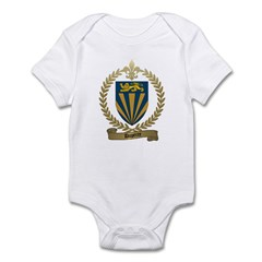 DUPERRE Family Crest Infant Creeper