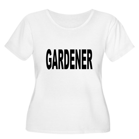 Gardener Women's Plus Size Scoop Neck T-Shirt