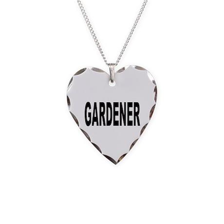Gardener Necklace Heart Charm