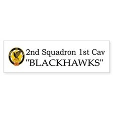 2nd Squadron 1st Cavalry Bumper Sticker