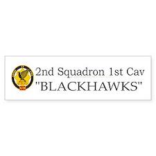 2nd Squadron 1st Cavalry Car Sticker