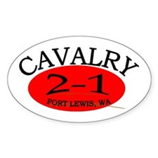 2nd Squadron 1st Cavalry Decal