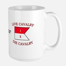 2nd Squadron 1st Cavalry Large Mug