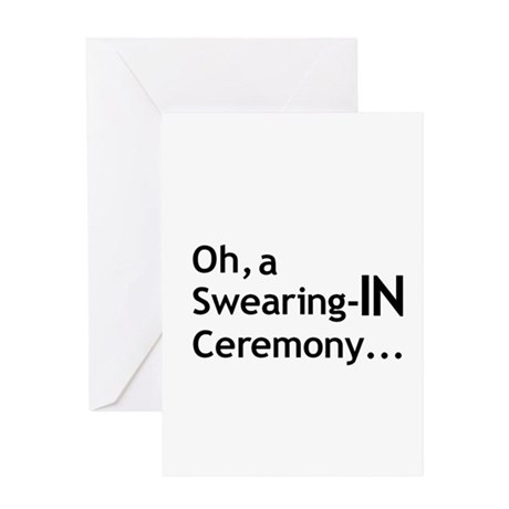 Ceremony Greeting Card by verylegaldept
