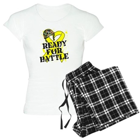 Battle Testicular Cancer Women's Light Pajamas