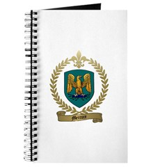 MERCURE Family Crest Journal