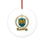 MERCURE Family Crest Ornament (Round)