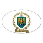 MERCURE Family Crest Oval Sticker