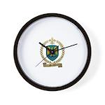 MERCURE Family Crest Wall Clock