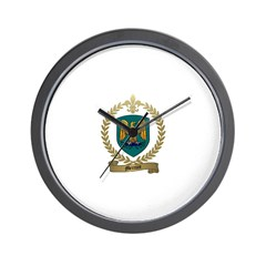 MERCURE Family Crest Wall Clock