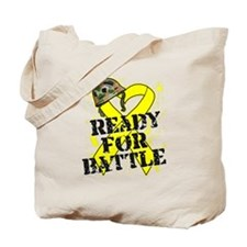 Battle Sarcoma Cancer Tote Bag