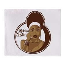 Nubian Sister Throw Blanket