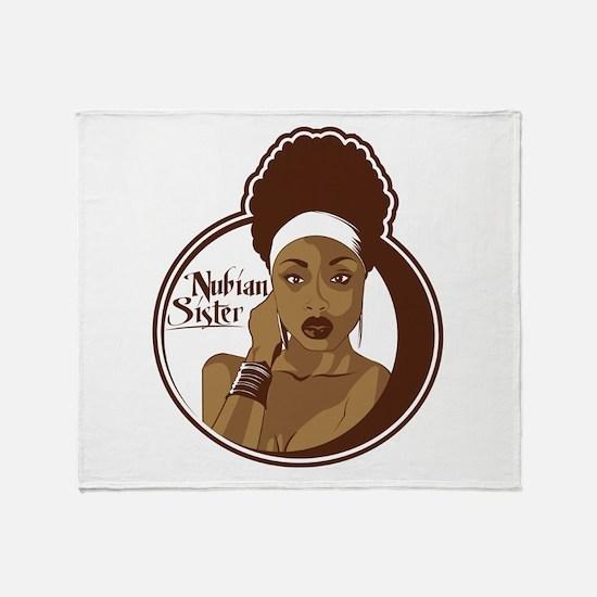 Nubian Sister Throw Blanket