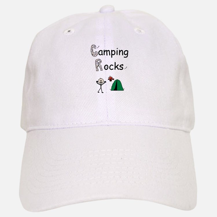 CAMPING ROCKS Baseball Baseball Cap