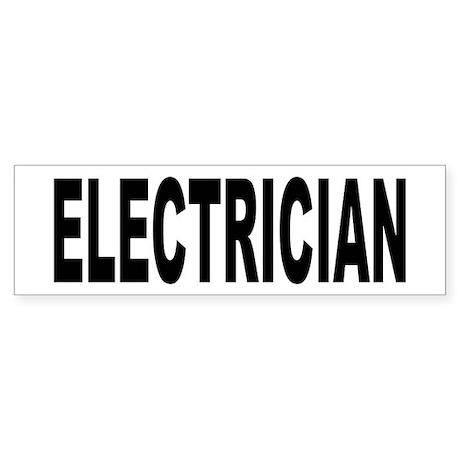 Electrician Sticker (Bumper)