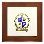 CHASSE Family Crest Framed Tile