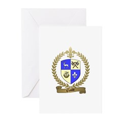 CHASSE Family Crest Greeting Cards (Pk of 10)