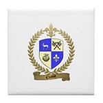 CHASSE Family Crest Tile Coaster