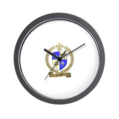 CHASSE Family Crest Wall Clock