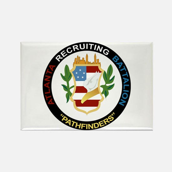 DUI - Atlanta Recruiting Battalion Rectangle Magne