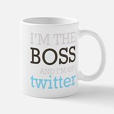 Twitter Boss Mug