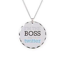 Twitter Boss Necklace