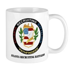 DUI - Atlanta Recruiting Battalion with Text Mug