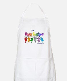I am a Happy Feastgoer BBQ Apron