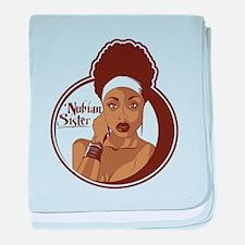 Nubian Sister baby blanket