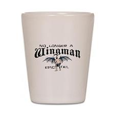 Wingman Epic Fail Shot Glass