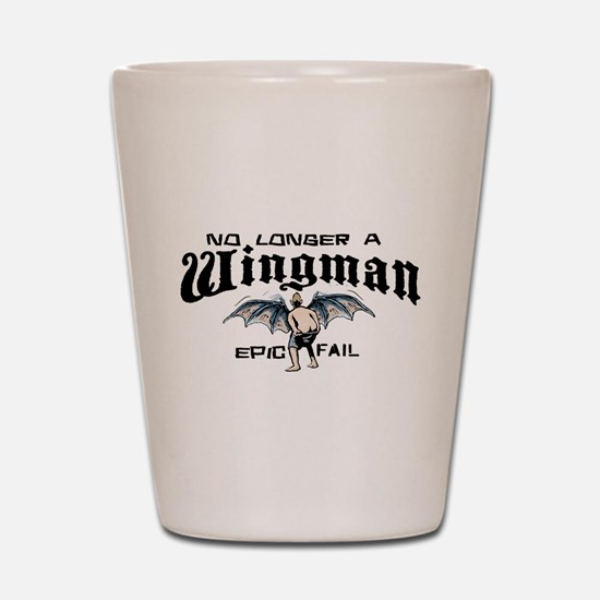Wingman Epic Fail Shot Glass
