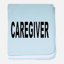 Caregiver baby blanket