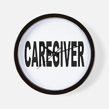 Caregiver Wall Clock