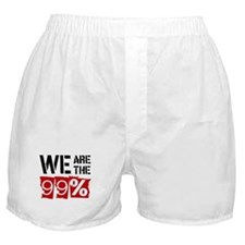 We Are The 99% Boxer Shorts