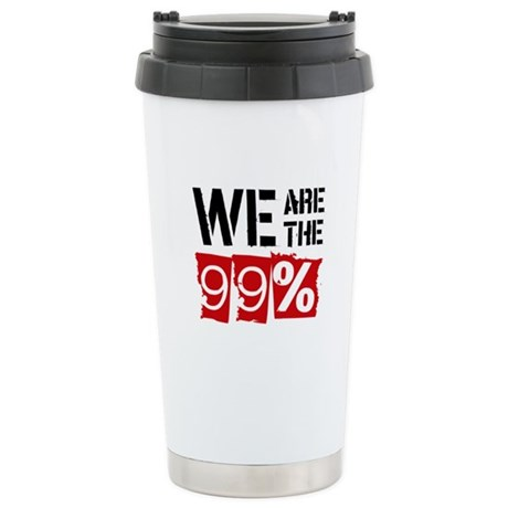 We Are The 99% Stainless Steel Travel Mug