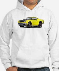 1969 Super Bee A12 Yellow Hoodie