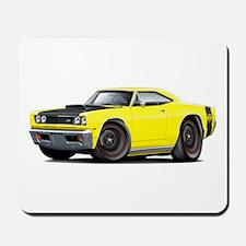 1969 Super Bee A12 Yellow Mousepad